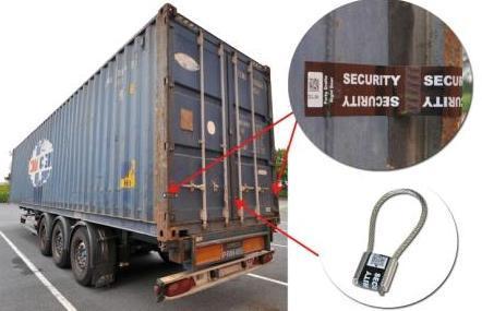 Securétiq : un jeu d'étiquettes contre l'effraction de containers