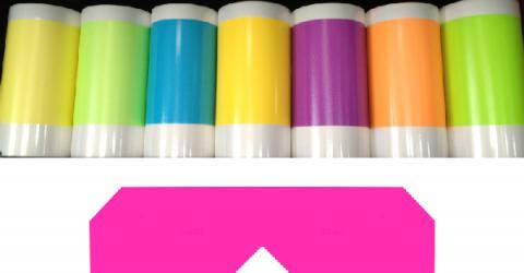 Le fluo sécurité pour toutes vos étiquettes