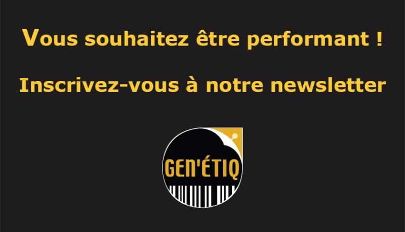 Newsletter Gen'étiq