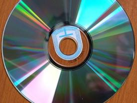 Etiquette avec leurre CD