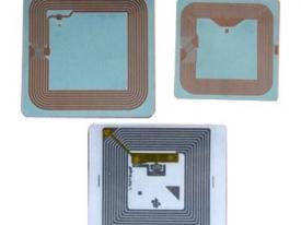 Etiquette RFID HF (bibliothèques)