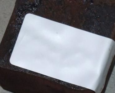 Etiquette pour surfaces difficiles