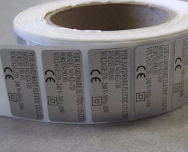Etiquette aluminium