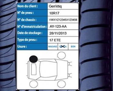 Gestion Hotel à pneu, Identification, Traçabilité, Stockage pneus hivers/été  usagés
