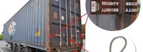 Securétiq : une étiquette intelligente contre l'effraction de containers