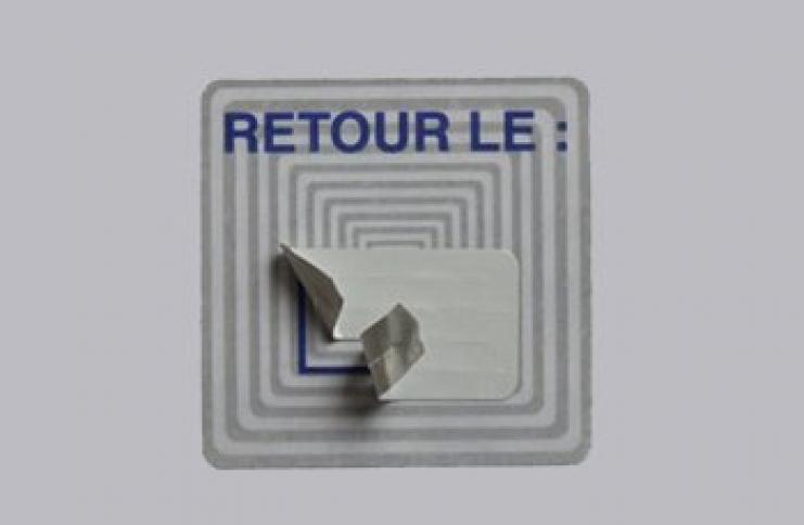 Etiquette bibliothèque